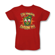 "Load image into Gallery viewer, Gumby T-Shirt: ""Darn It"""