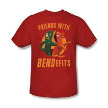 "Load image into Gallery viewer, Gumby T-Shirt: ""Friends with Bendefits"""