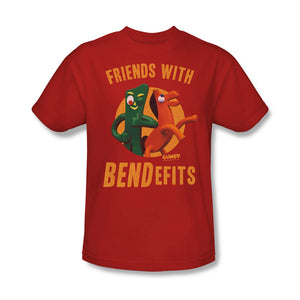 "Gumby T-Shirt: ""Friends with Bendefits"""