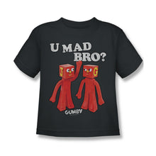 "Load image into Gallery viewer, Gumby T-Shirt: ""U Mad Bro?"""