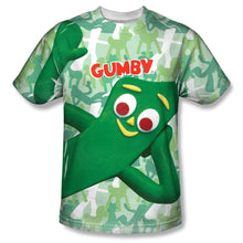 "Load image into Gallery viewer, Gumby T-Shirt: ""Gumbyflage"""