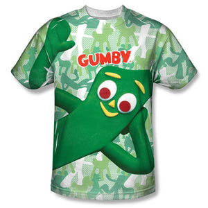 "Gumby T-Shirt: ""Gumbyflage"""