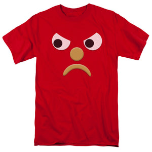 "Blockhead T-Shirt: ""Frowning Blockhead G"""