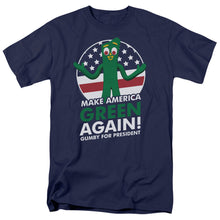 "Load image into Gallery viewer, Gumby T-Shirt: ""Gumby for President"""