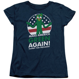 "Gumby T-Shirt: ""Gumby for President"""