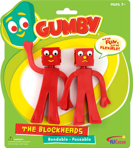Blockheads Bendable Figures