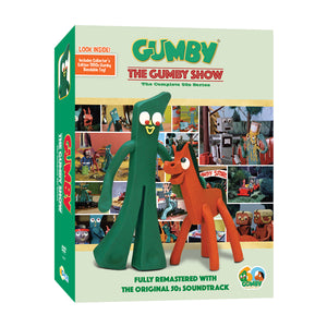 Gumby Show - 1950s Series with Bendable Toy - DVD