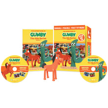 Load image into Gallery viewer, The Adventures of Gumby - 1960s Series, Vol. 1 DVD with Bendable Pokey Toy