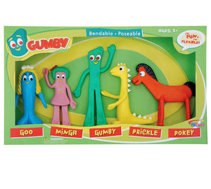 Gumby & Pals Bendable Set