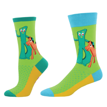 "Load image into Gallery viewer, Gumby Socks: ""Gumby & Pokey"""