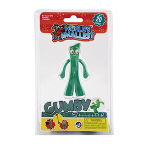 Stretch Gumby - The World's Smallest