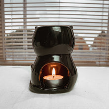 Load image into Gallery viewer, Black Cat Wax Burner