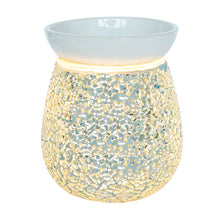 Load image into Gallery viewer, Silver Mosaic Electric Wax Burner