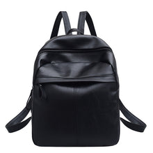 Load image into Gallery viewer, Fashion Backpack Women PU Leather Backpacks For