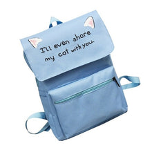 Load image into Gallery viewer, Hot Sale Unisex Travel Bag Student Bag Cat Ear