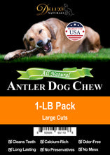 Load image into Gallery viewer, 1-LB Pack Elk Antler Dog Chew - Mixed Large Cuts