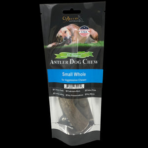 Elk Antler Dog Chew - Small Whole