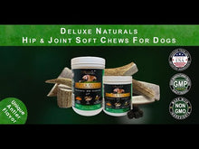 Load and play video in Gallery viewer, Deluxe Naturals Hip & Joint Soft Chews for Dogs - 90 Chews