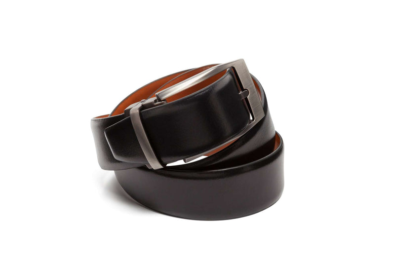 Reversible Beveled Belts - Men Suits