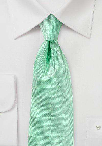Mint MicroTexture Necktie - Men Suits
