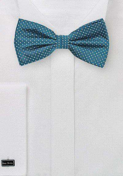 Peacock Pin Dot Bowtie - Men Suits