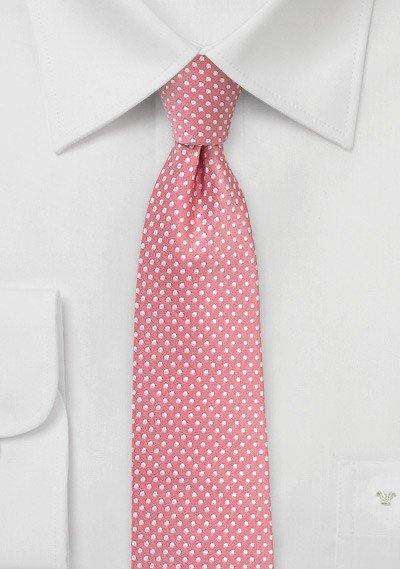 Tulip Pin Dot Necktie - Men Suits
