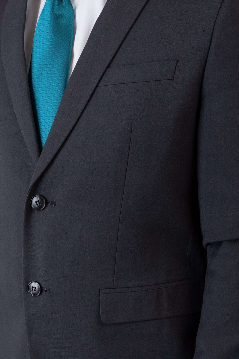 Charcoal Gray 2 Button Suit - Men Suits