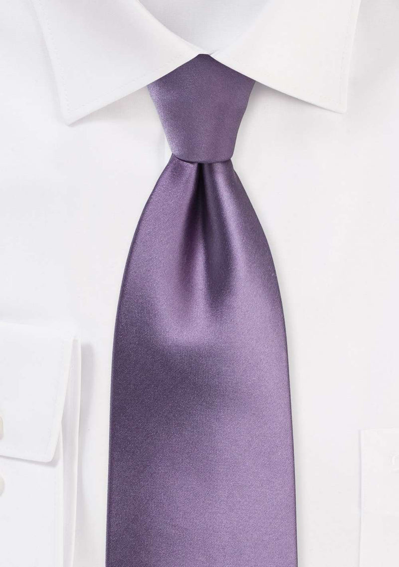 Wisteria Solid Necktie - Men Suits