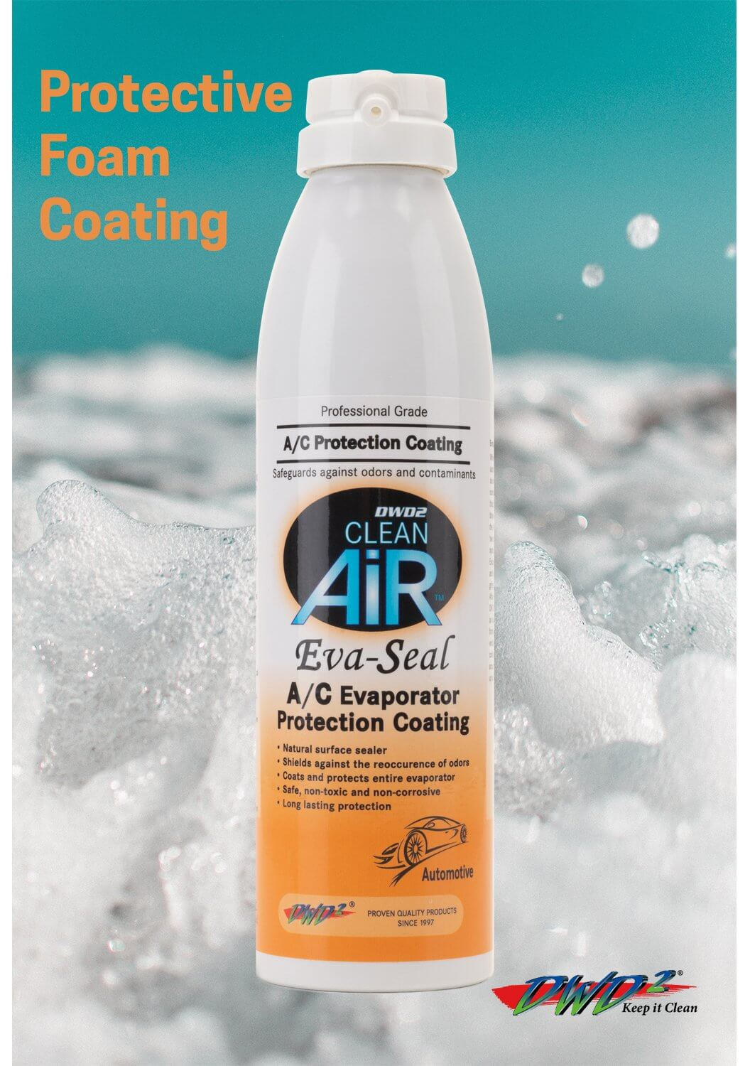 Eva-Seal - Enzymatic Protective  A/C Evaporator Coating 8 oz.