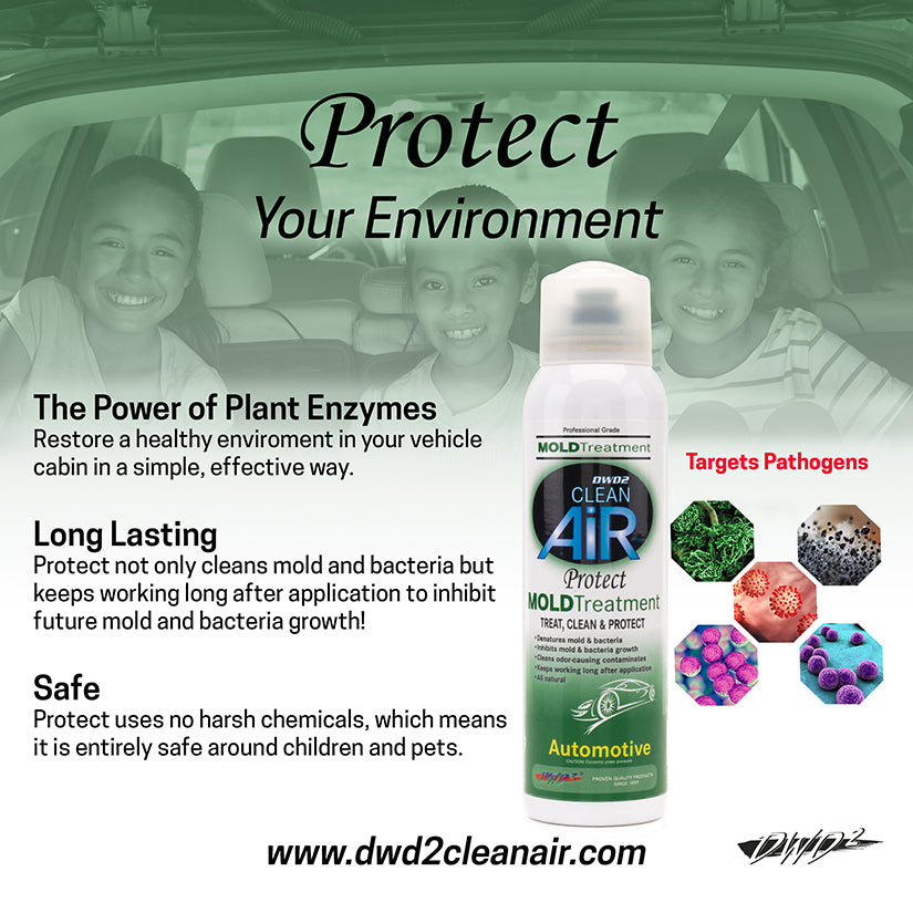 Protect Automotive Mold & Bacteria Treatment 4 oz.