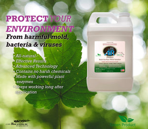 Protect - Multi Surface Mold & Bacteria Solution - 1 Gallon