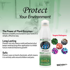 Protect Home & Commercial Mold and Bacteria Treatment 8 oz.