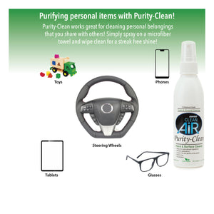 Purity-Clean Hand & Surface Cleaner 4 oz.