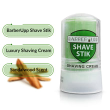 Load image into Gallery viewer, BarberUpp Shaving Soap, Smooth Thick Rich Shaving Foam, Shaving Cream For Men, Includes Convenient Storage Case.
