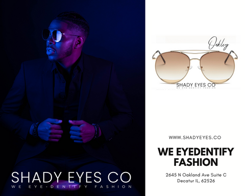 Do you dress according to your mood? Or according to the vibe you want to give off for the day/evening. Well, we have just the perfect accssory that can help you change your persona with a new EYE-DENTITY! We help create multiple personalities for any occasion with our stylish frames. Our premium sunglasses provide a stylish yet elegant look for both Men and Women at the most affordable prices. Shop with us if you have a specific look you going for. Beauty is in the EYE of the beholder. What will your SHADY EYES say