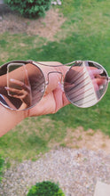 Load and play video in Gallery viewer, Phoenix-Round Retro Metal Circle Mirrored Sunglasses