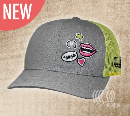 *NEW* Laughing Lips Cap