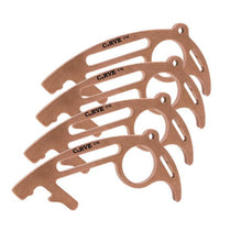 Load image into Gallery viewer, USA Made 100% Copper No Touch Tool CuRVE® Shield 4 Pack Tool Micro Mini Metal