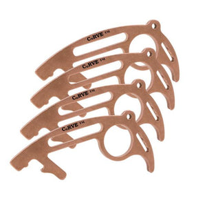 USA Made 100% Copper No Touch Tool CuRVE® Shield 4 Pack Tool Micro Mini Metal