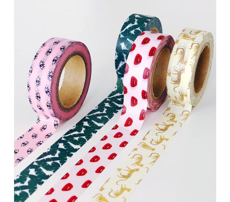 Lips Washi Tape