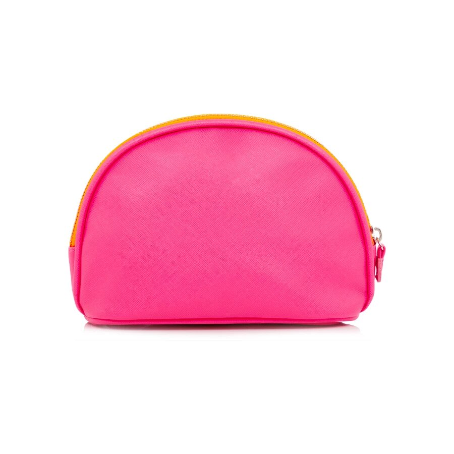 Alphabet Bubble Gum Pink Cosmetic Bag