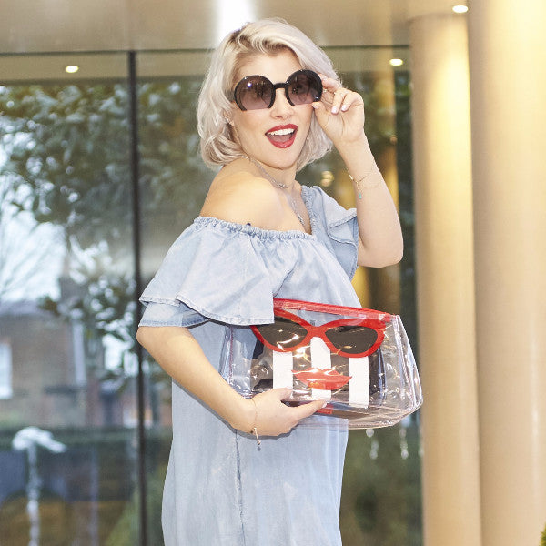 Marilyn Two-in-one Makeup and Toiletry Travel Bag