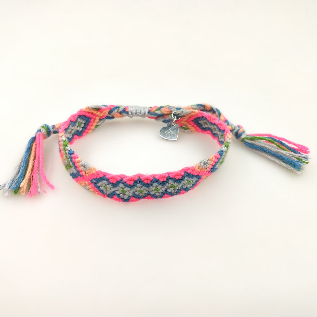 Chloe and Emma Woven Friendship Bracelet