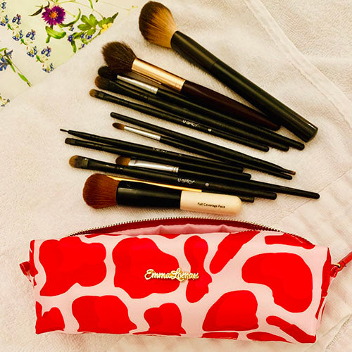 make up bag for your make up brushers, Emma Lomax
