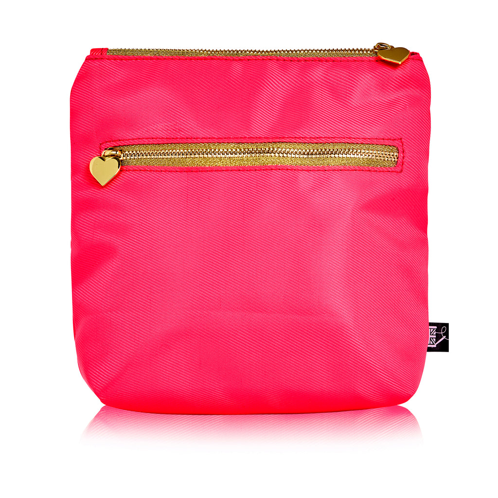 Hot Pink Lips Washbag Bag