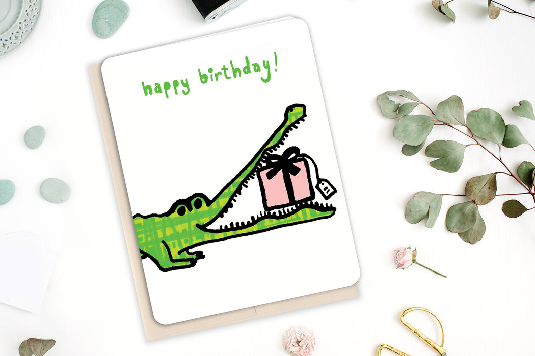 Alligator Birthday