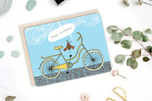 Load image into Gallery viewer, Bicycle Birthday