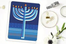 Load image into Gallery viewer, Modern Hanukkah Candles