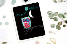 Load image into Gallery viewer, Owl Birthday