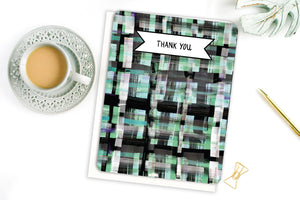Plaid Thank You